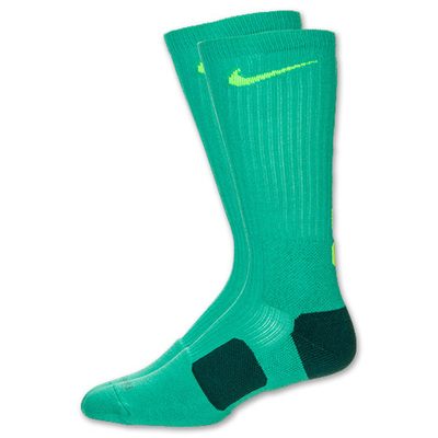 Nike elite socks black and white for girls
